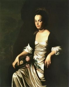 Copley's portarit of Judith Sargent